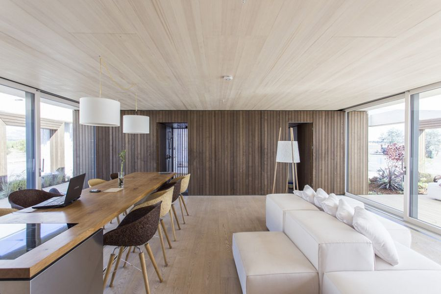 Interior of LISI – Winner of 2013 Solar Decathlon