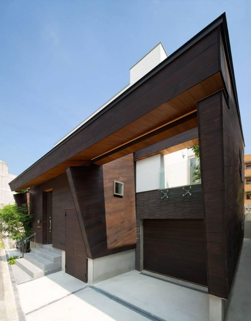 Japanese house wooden extreior