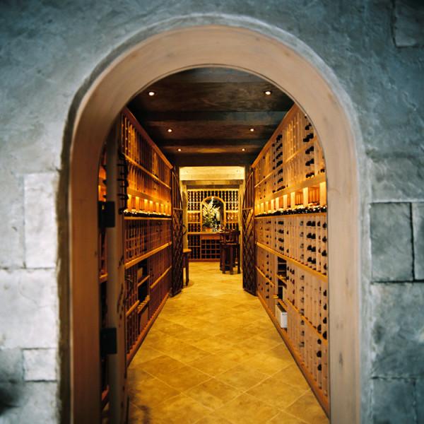 King Arthur wine cellar