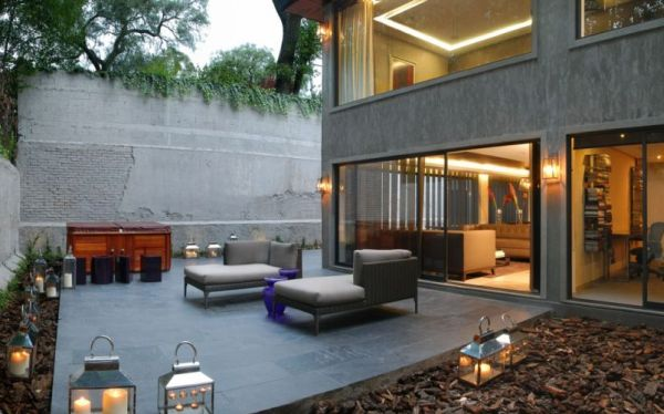 Renovated Mexican Residence With A Home Office And A Garden Jacuzzi