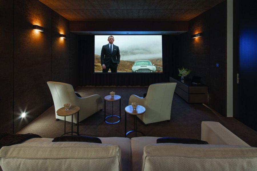 Luxurious home theater design