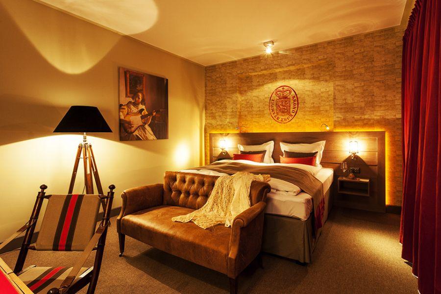 Luxurious suite roms of the Baltazar Hotel