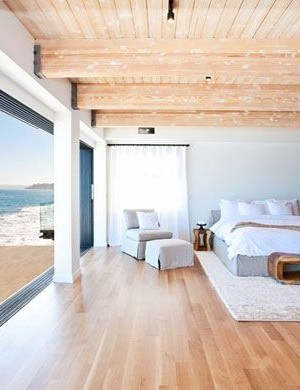 Matthew Perry's Malibu Beach House Bedroom