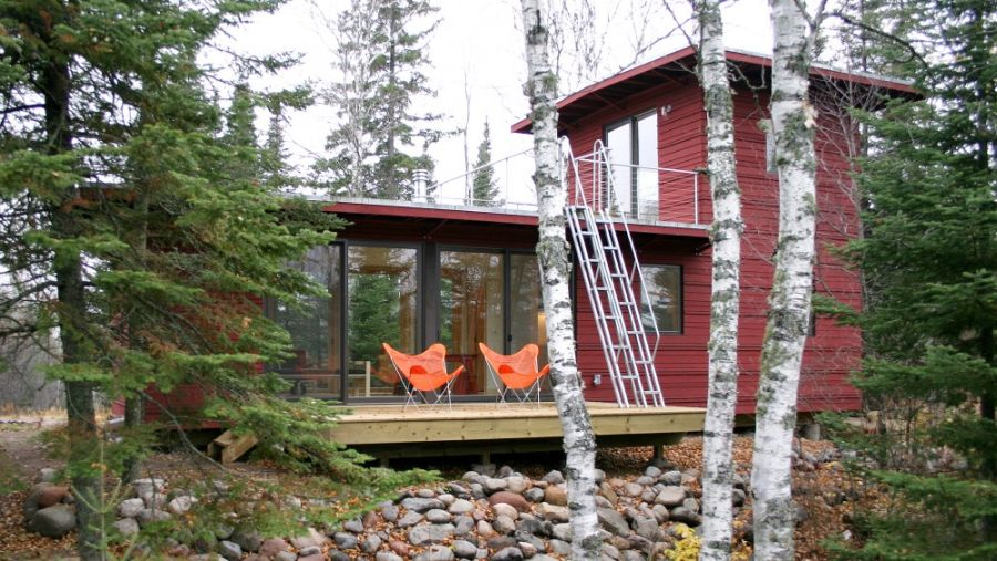 McGlasson weeHouse near Lake Superior Sustainable And Affordable Prefab WeeHouse Delivers Big time!