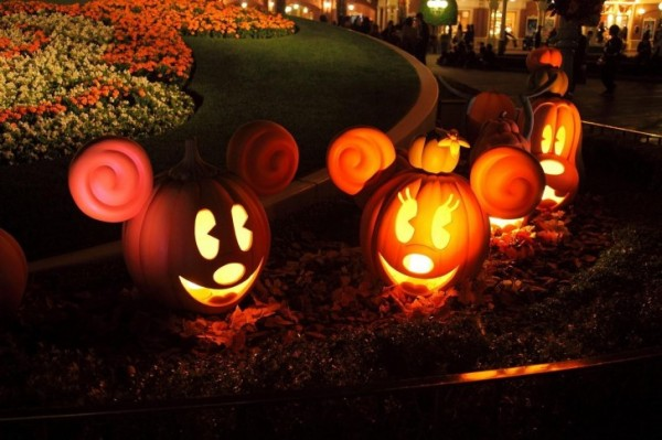 Mickey Mouse Halloween Pumpkin Lights