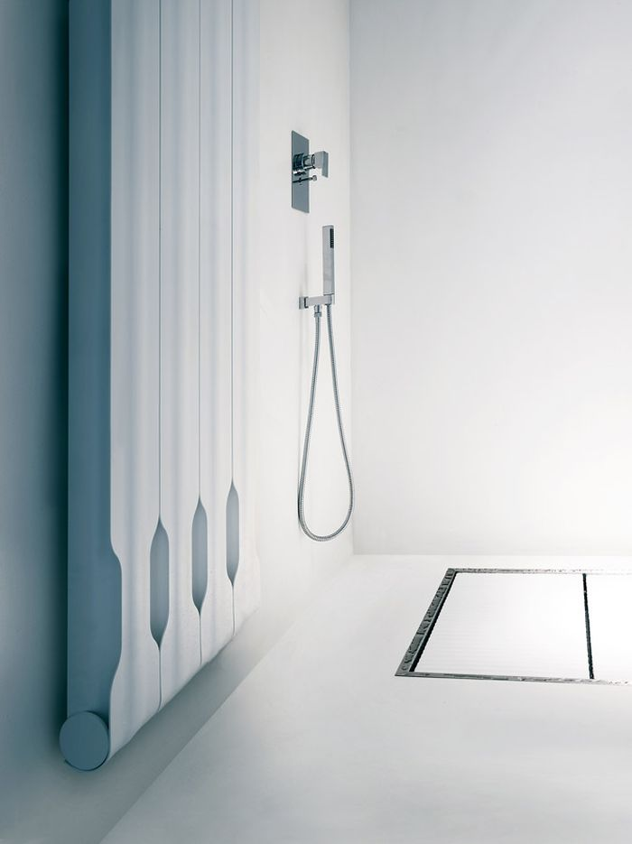 Modern bathroom radiator design