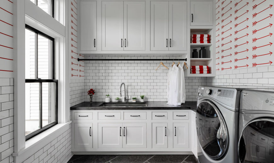 Chic Storage Ideas to Transform Your Laundry Room