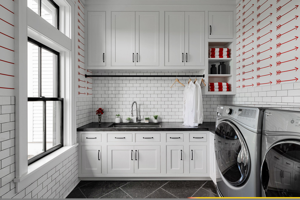 35 Laundry Room Shelving And Storage Ideas For Space Savvy Homes Decoist