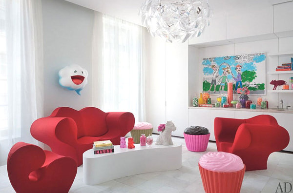 Modern space filled with Jellio furnishings
