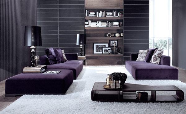 modular purple sofa - Purple Furniture