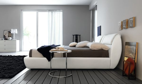 Multiple shades of grey combined with brown and white