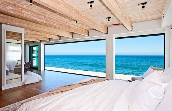 Ocean views from the bedroom