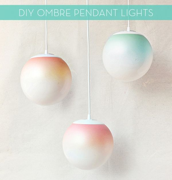 Ombre Pendant Lights