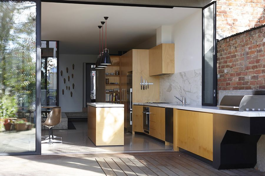 Open kitchen desig idea