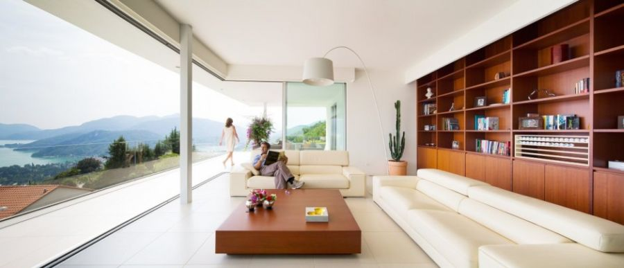 Open living area with lovely views