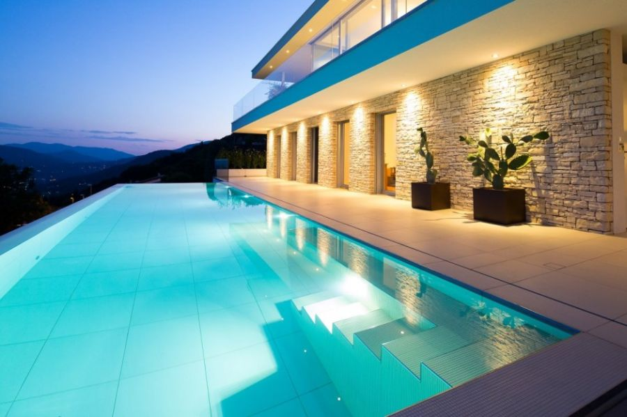 Luxurious Swiss Villa Sizzles With Spectacular Views And A