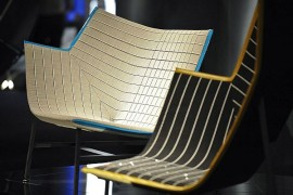 Paper Planes Armchair With Swarovski Elements by Doshi Levien for MOROSO