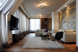 Exclusive Belgrade Penthouse Combines Dynamic Design With Plush Décor