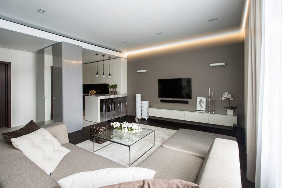 Plush decor in the apartment