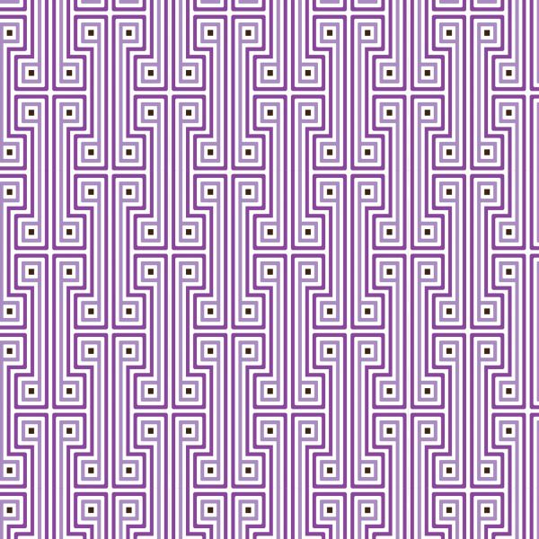Purple geometric wallpaper from Jonathan Adler