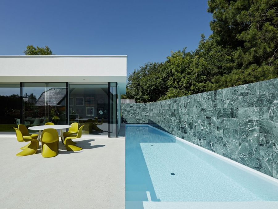 Refreshing pool with large deck space
