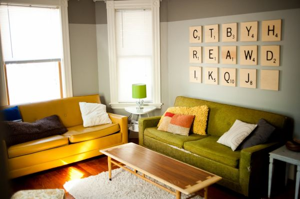 wall art ideas for living room diy. View in gallery Scrabble wall art DIY idea 50 Beautiful Wall Art Ideas For Your Home