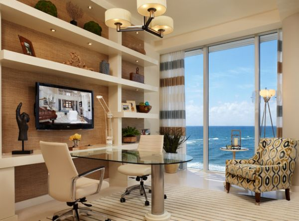Share your creative ideas as you enjoy unabated ocean views!