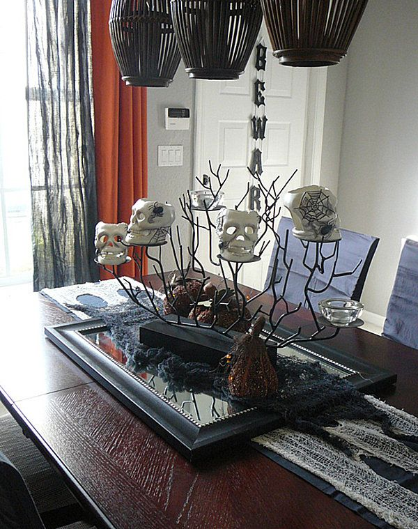View In Gallery. 40 Spooky Halloween Decorating Ideas ...