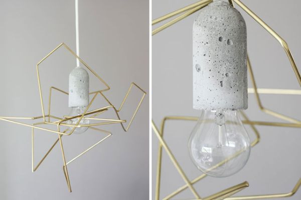 50 coolest diy pendant lights view in gallery sleek wire lampshade aloadofball Gallery