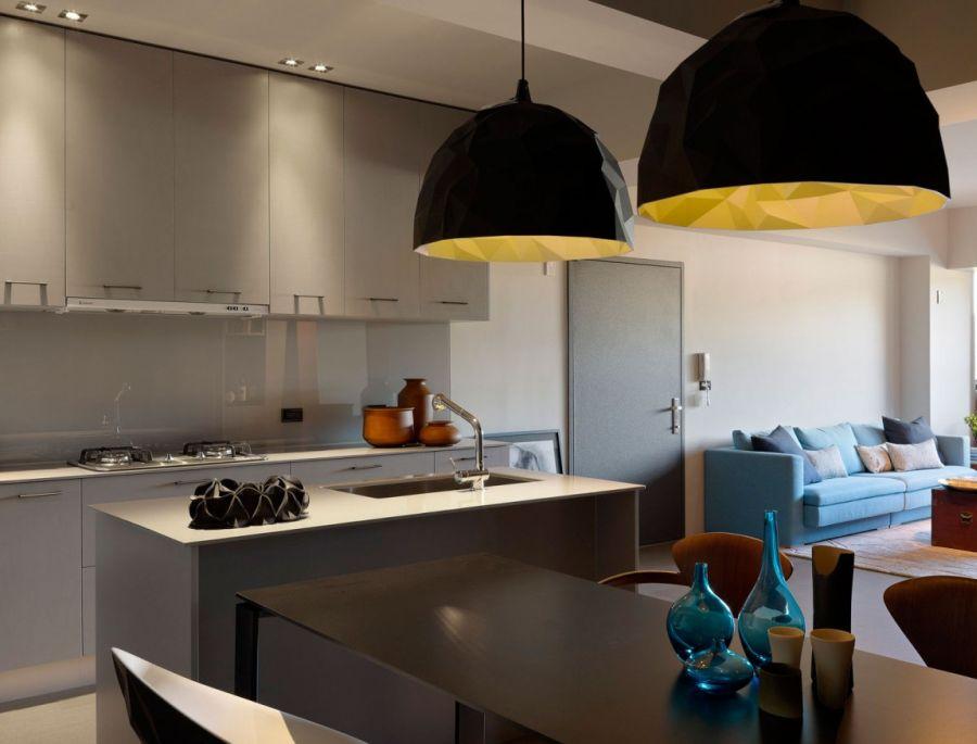 Sleek and stylish dining table