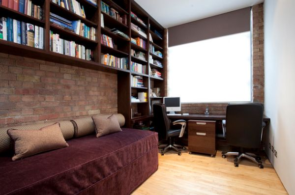 Pleasing 30 Shared Home Office Ideas That Are Functional And Beautiful Largest Home Design Picture Inspirations Pitcheantrous