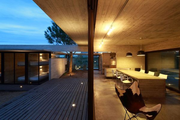 Soothing Carassale Private Residence by BAK Architects