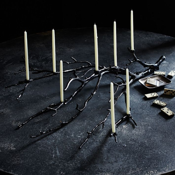 Spooky candelabra Creative Halloween Ideas That Celebrate Festive Style