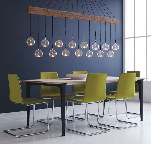 Sprout green dining chairs
