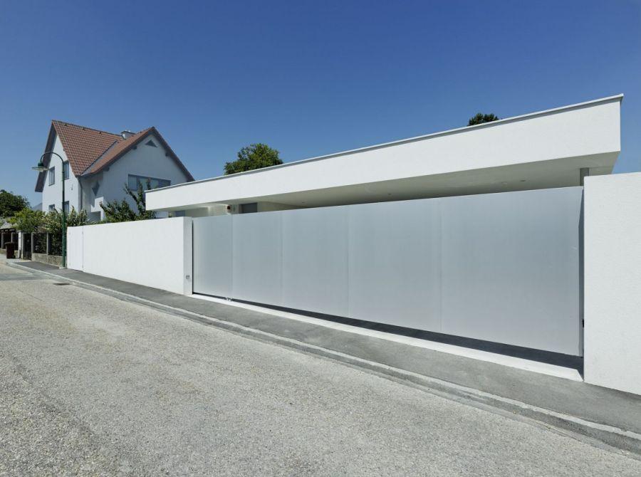 Street facade of House A&B