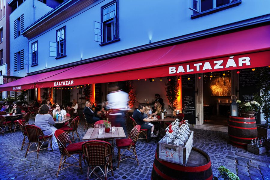 Street view of Hotel Baltazar