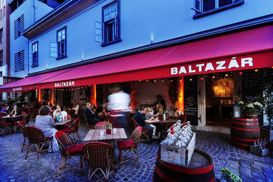 Street view of Hotel Baltazar