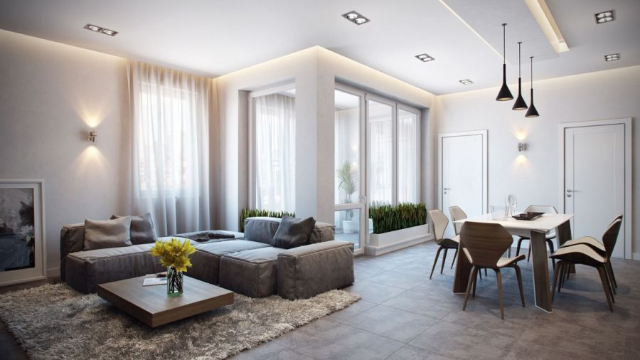 contemporary german apartment design showcases a stunning interior