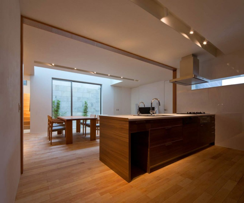 Stylish modern Japanese Kitchen