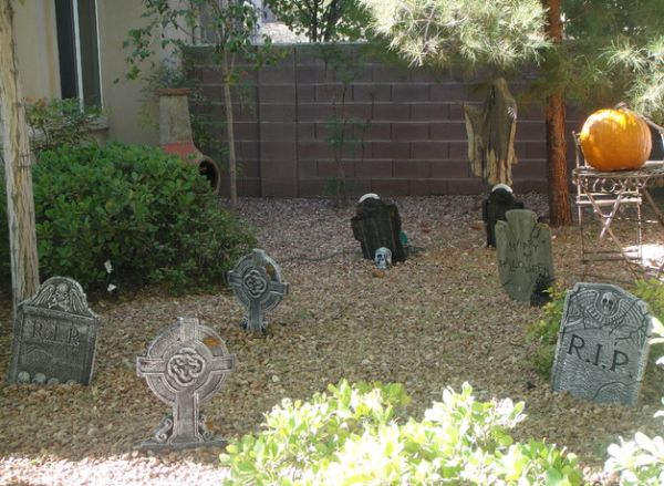 Turn that front lawn into a graveyard!