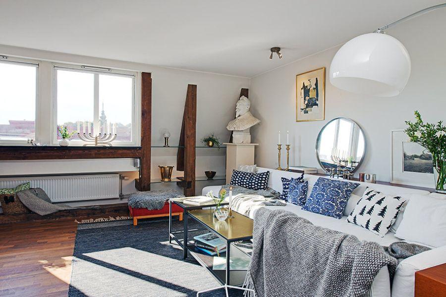 Gorgeous Gothenburg Apartment Displays Distinct ...