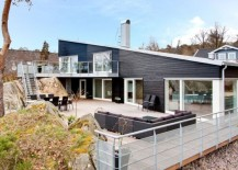 Exciting Terrace And An Exquisite Interior Shape Stylish Villa Skipas