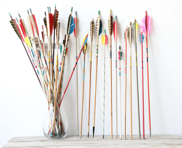 Vintage arrow collection