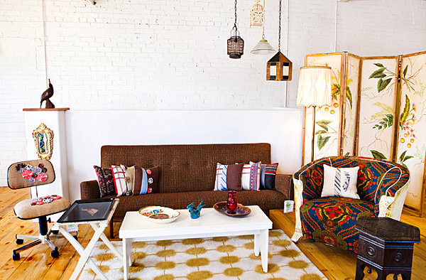 10 Rooms With Modern Vintage Style