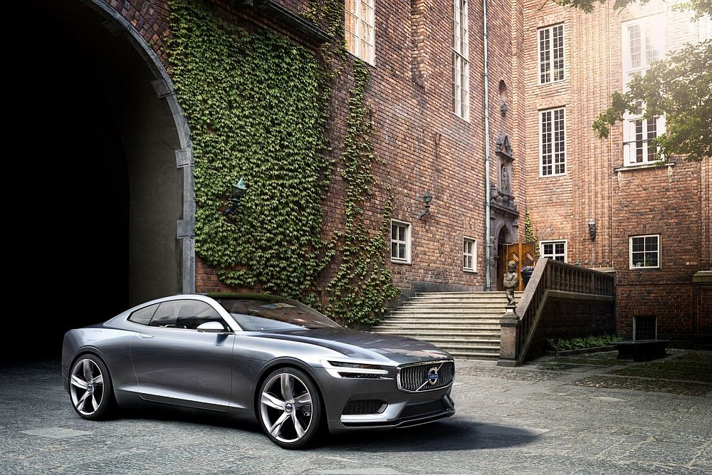 Volvo Concept Coupe – house design