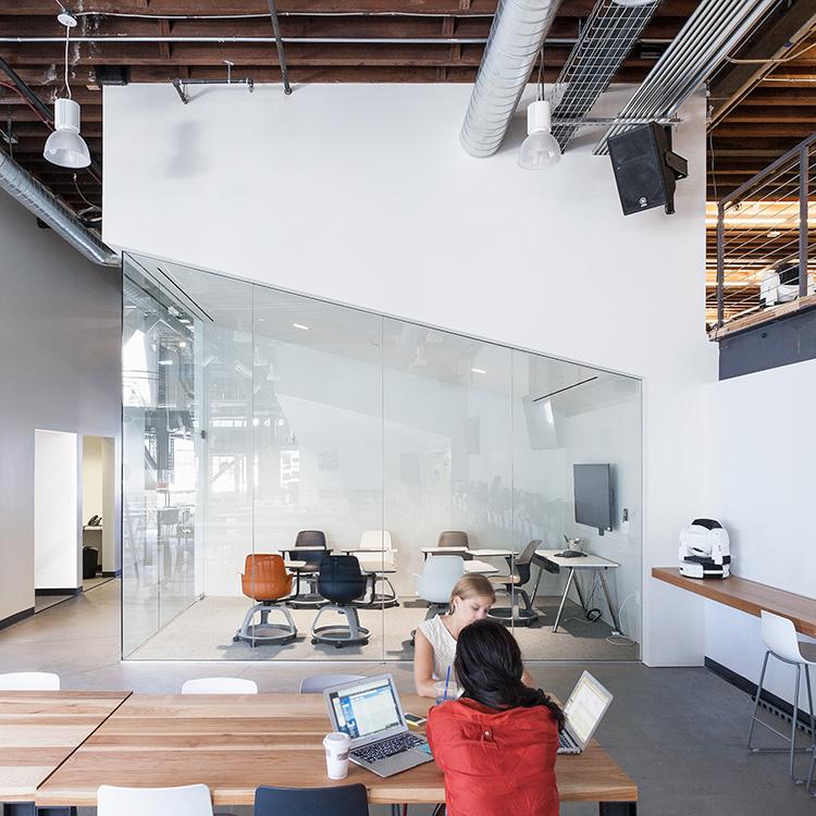 War Room design inside the Pinterest headquarters