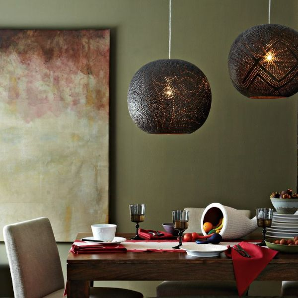 West Elm Globe Pendant - Original