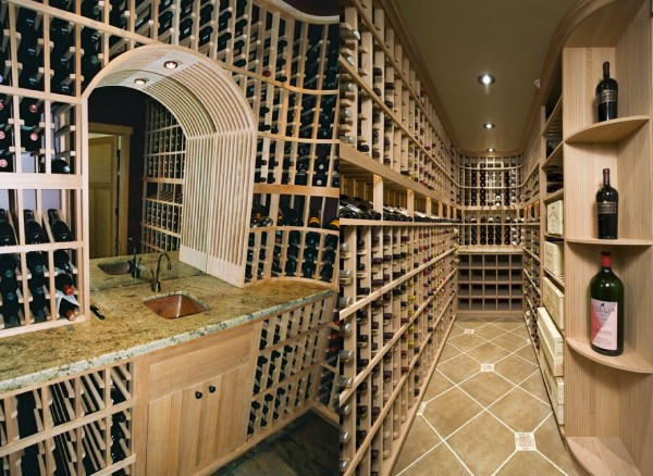 Wine cellars in Los Gatos California