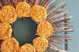 DIY Wreaths: Cool Accents For Doors & Walls