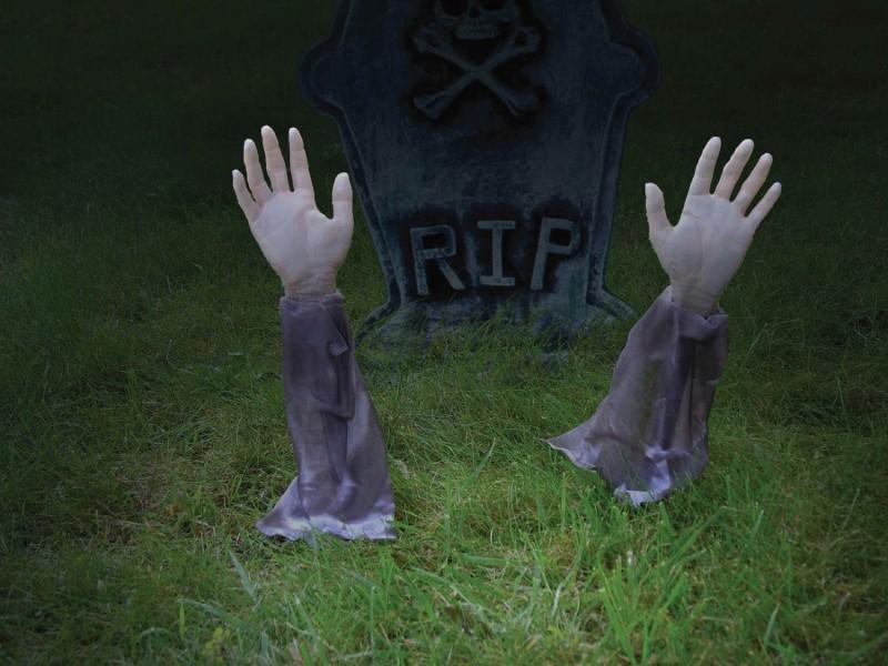 Zombie Arm Lawn Stakes Forum Novelties Inc.